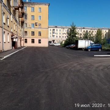 Изображение объекта Благоустройство придомовой территории ул. Смирнова, д. 3