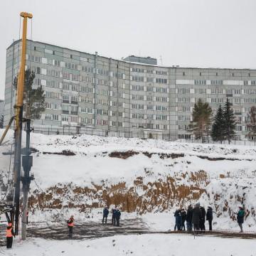 Изображение объекта Общеобразовательная школа на 1225 учащихся с универсальным спортивным блоком на 170 посещений в смену в мкрн 7б Центрального района г. Кемерово