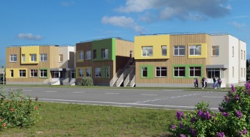 Изображение объекта Детский сад на 140 мест по адресу: Кемеровская область, пгт. Яшкино