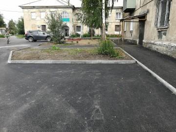 Изображение объекта Дворовая территория по адресу:ул. Менделеева, 3 г. Ленинск-Кузнецкий