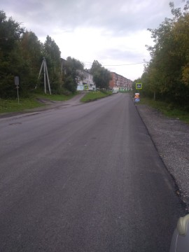 Изображение объекта Капитальный ремонт покрытия автодороги по адресу: Кемеровская область, г.Таштагол, ул.Суворова
