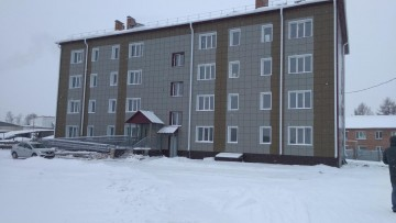 Изображение объекта Многоквартирный жилой дом по адресу: п. Калининский, ул. Школьная, 8а