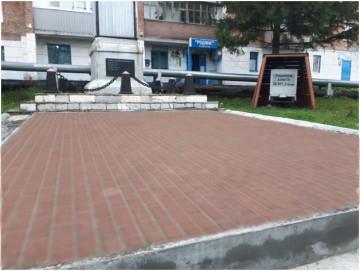 Изображение объекта Благоустройство прилегающей территории к Памятнику Погибшим шахтерам, пгт Темиртау