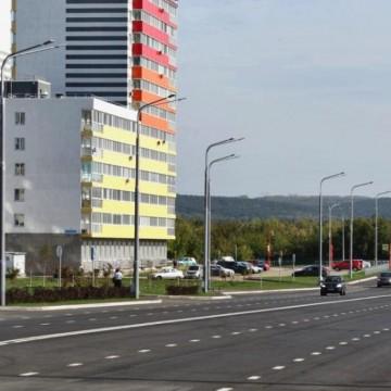 Изображение объекта Участок автомобильной дороги по пр. Ленина, микрорайон № 64, г.Кемерово