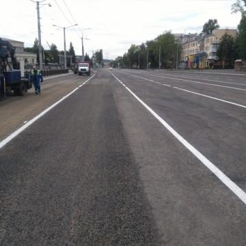 Изображение объекта Реконструкция автомобильной дороги на пр. Металлургов