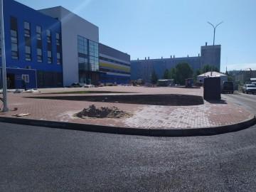 Изображение объекта Спортивный комплекс с бассейном в Западном районе г. Междуреченска (строительство)