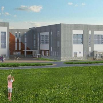 Изображение объекта Общеобразовательная школа по ул. Сосновая в г. Анжеро-Судженск
