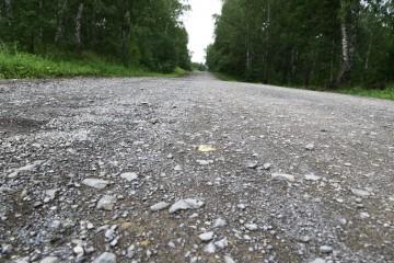 Изображение объекта Автомобильная дорога от границы Кемеровского муниципального округа до ул. Заречная в п. Привольный (ремонт)