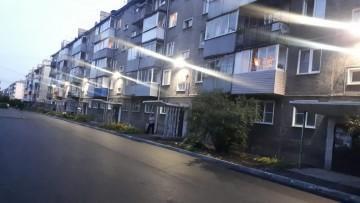 Изображение объекта Дворовая территория по адресу: ул. Зварыгина, 20,  г. Ленинск-Кузнецкий