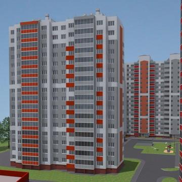 Изображение объекта Заводский район, квартал № 55, жилой дом № 1, корпус 5