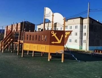 Изображение объекта Детская площадка -корабль