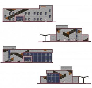 Изображение объекта Автовокзал, расположенный по адресу: г.  Белово, ул. Юбилейная, 2