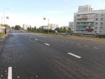 Изображение объекта Реконструкция автомобильной дороги по ул.Крупской
