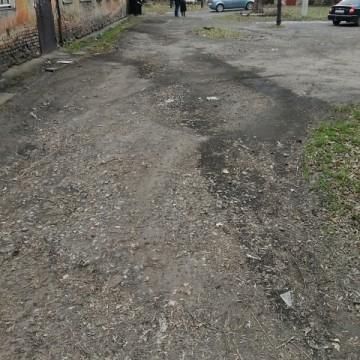 Изображение объекта Дворовая территория по адресу: ул. Шишлянникова, 1, г. Ленинск-Кузнецкий