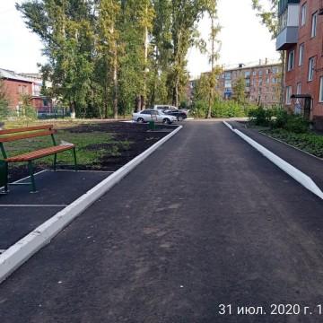 Изображение объекта Благоустройство придомовой территории ул. Сеченова, д. 4