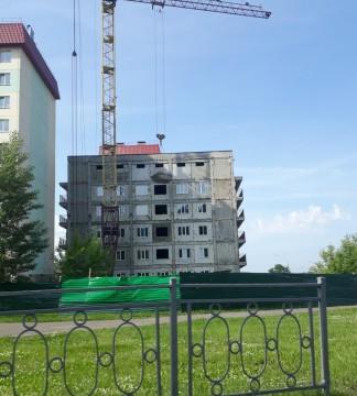 Изображение объекта Многоквартирный пятиэтажный жилой дом №5/1. г. Междуреченск, Западный район, микрорайон №49.