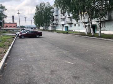 Изображение объекта Дворовая территория дома №17 по ул. Комсомольская в г. Салаире (благоустройство)
