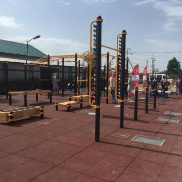 Изображение объекта Малая спортивная площадка со спортивно-технологическим оборудованием для подготовки и выполнения нормативов ВФСК ГТО