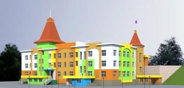 Изображение объекта Г. Кемерово, Центральный район, микрорайон 7Б. Детский сад №11 на 200 мест с бассейном
