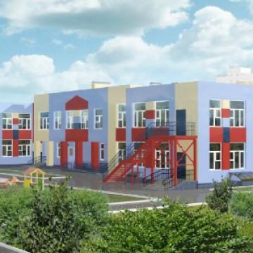 Изображение объекта Детский сад на 140 мест, жилой район Ягуновский, ул. Барнаульская, 21