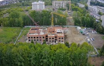 Изображение объекта Детский сад на 130 мест, микрорайон № 55, Заводский район