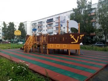 Изображение объекта Детская игровая площадка. Ул.Космонавтов,73