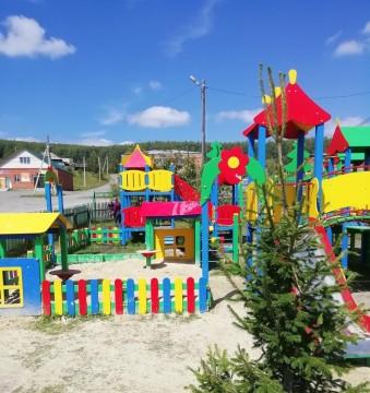 Изображение объекта Детская игровая площадка, пгт. Комсомольск
