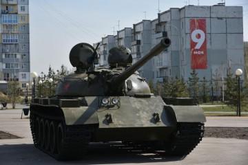 """Изображение объекта Танк Т-55, г.Белово, парк """"Победа"""""""