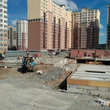 Изображение объекта Детский сад на 258 мест с бассейном, микрорайон № 15А, Центральный район