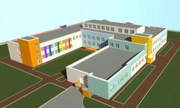 Изображение объекта Детский сад на 200 мест с бассейном, микрорайон  № 12А, Рудничный район