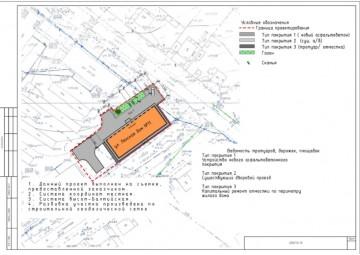 Изображение объекта Дворовая территория по адресу: ул.Ленская, 11 Ленинск-Кузнецкий городской округ