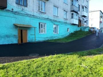 Изображение объекта Благоустройство придомовой территории по адресу: пгт Темиртау, ул. Центральная, д.15