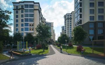 Изображение объекта 14-ти этажный жилой дом № 6, с подземными парковками, по ул. Дружбы в Заводском р-не г. Кемерово