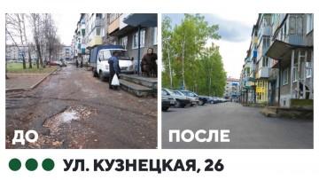 Изображение объекта Капитальный ремонт дворовой территории ул.Кузнецкая,26 Междуреченск
