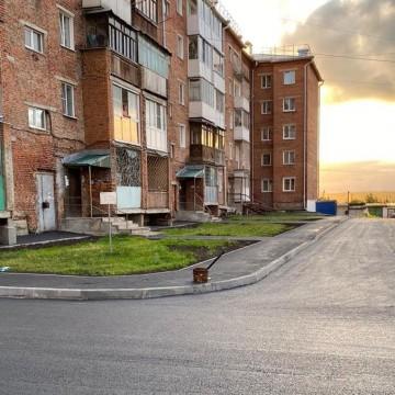 Изображение объекта Дворовая территория по адресу: г. Березовский, ул. Фурманова, 1