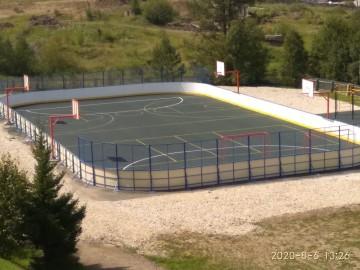 Изображение объекта Спортивная площадка, пгт. Комсомольск