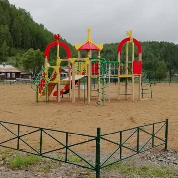 Изображение объекта Спортивно-игровая площадка, п. Полуторник