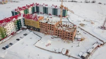Изображение объекта 140-квартирный жилой дом стр.№3/4(2-ая очередь стр-ва) в г.Юрге