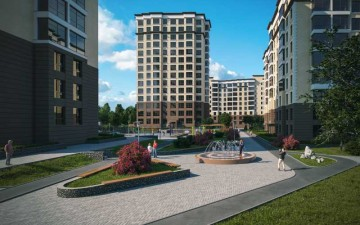 Изображение объекта 14-ти этажный жилой дом № 5, с подземными парковками, по ул. Дружбы в Заводском р-не г. Кемерово