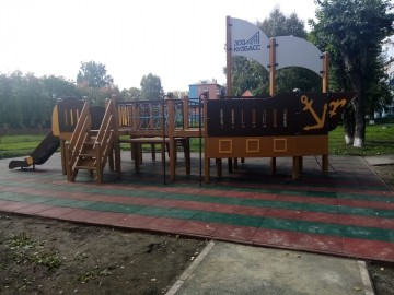 Изображение объекта Детская игровая площадка. ул.Бакинская,6