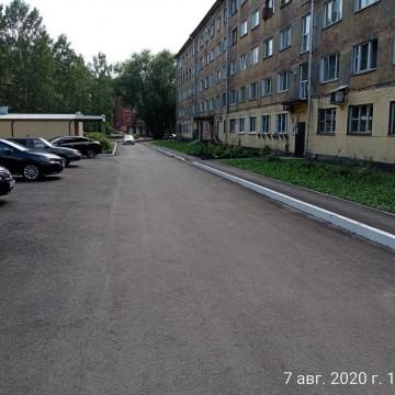 Изображение объекта Благоустройство придомовой территории ул. Сеченова, д. 8